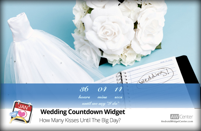 Wedding-Countdown-Widget