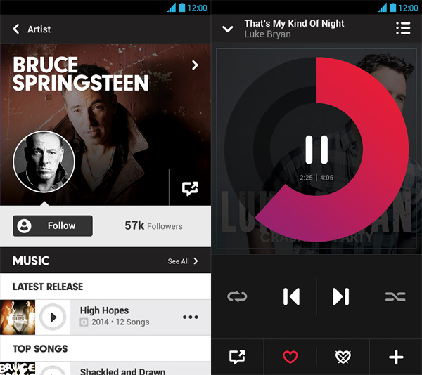 Beats-Music-for-Android-Palying-now