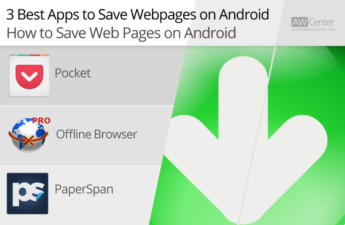 save page as pdf android