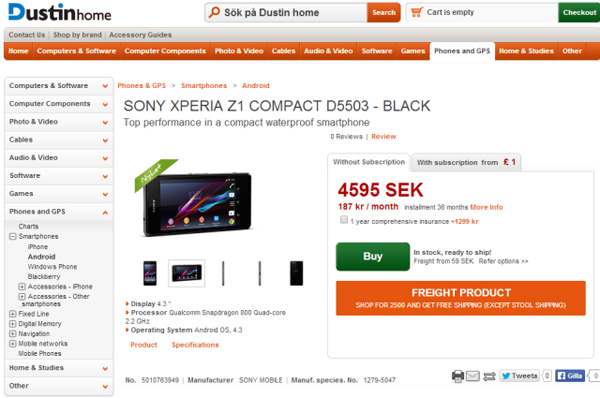 Sony-Xperia-Z1-Compact-Available-in-Sweden