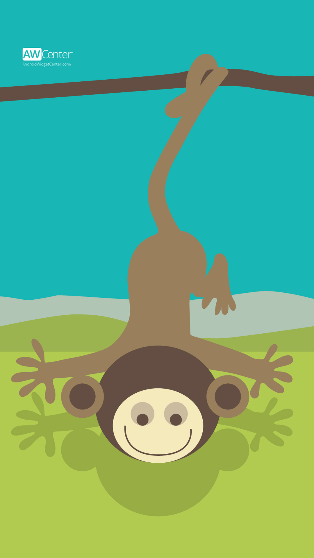 03 android wallpaper scary monkey preview