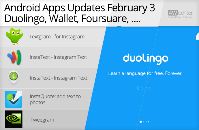 Android-App-Updates-February-03