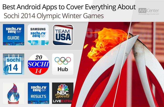 we review the best Android apps for Sochi 2014 Olympic winter games