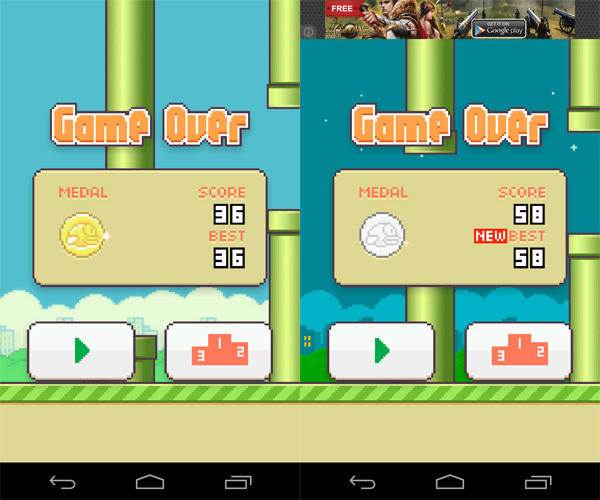 Flappy-Bird-for-Android-High-Scores-Medals
