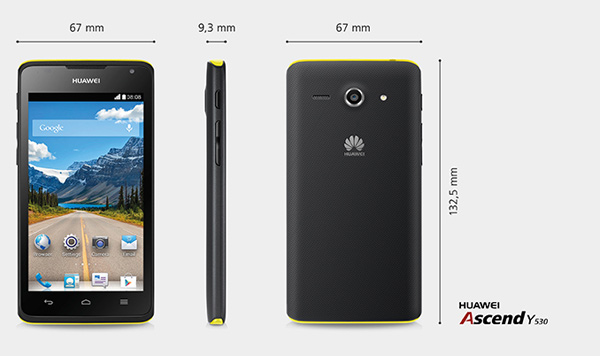 Huawei-Ascend-Y350-Dimension