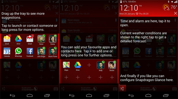 Snapdragon-Glance-for-Android-Features