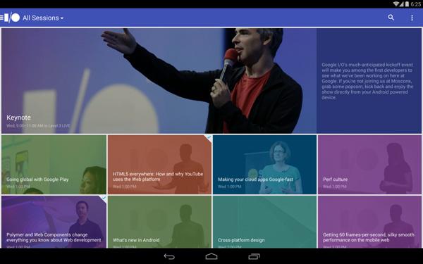 Google-IO-2014-Android-Application
