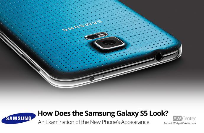 Samsung Galaxy S5 Appearance