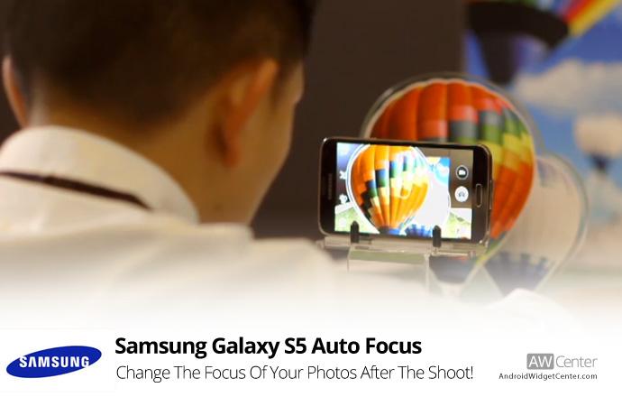 samsung galaxy s5 auto focus