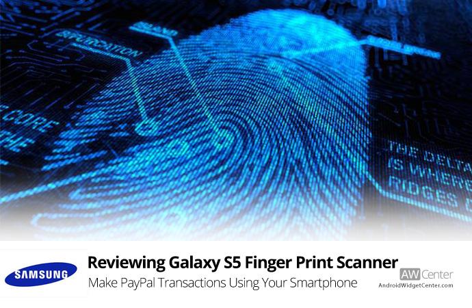 samsung galaxy s5 finger print scanner