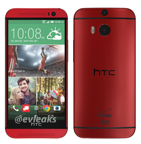 HTC-One-M8-in-Red-Leaked