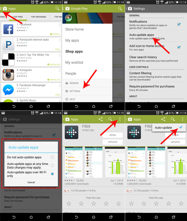 How to Enable/Disable Auto Update Android apps  AndroidWidgetCenter