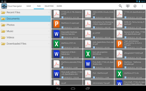 ZeroPC-Cloud-Navigator-on-Android-Manage-Could-Storage