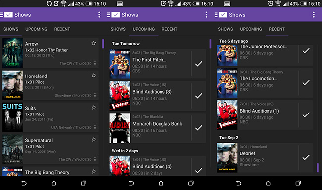 SeriesGuide-for-Android-Features