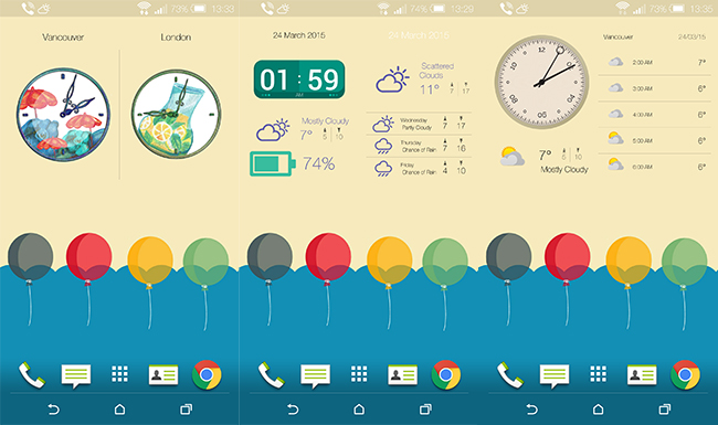 Unique-Widgets---Fully-Customizable-Android-Weather-and-Clock-Widgets
