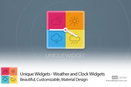 Unique-Widgets-Weather-Clock