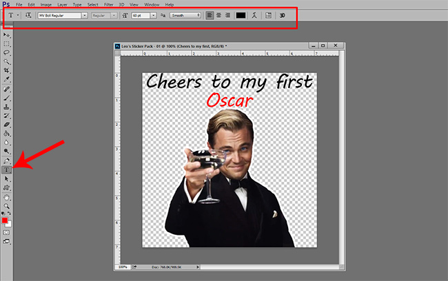 06-How-to-Create-Sticker-Pack-for-Telegram-Add-Style-Text-Photoshop