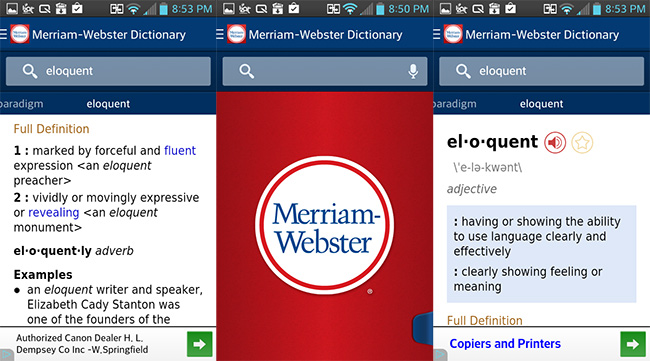 Free Android Dictionary App Offline