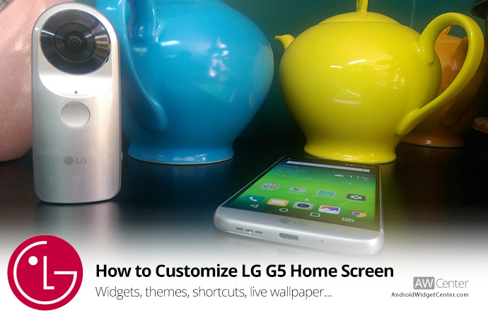 Lg Optimus 2x Default Wallpaper 15: How To Customize Home Screen On LG G5