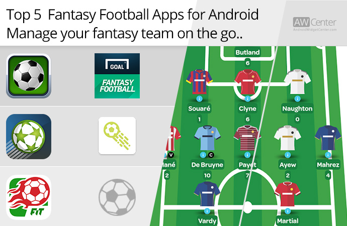 Top 5 Fantasy Football Apps For Android: Manage Your