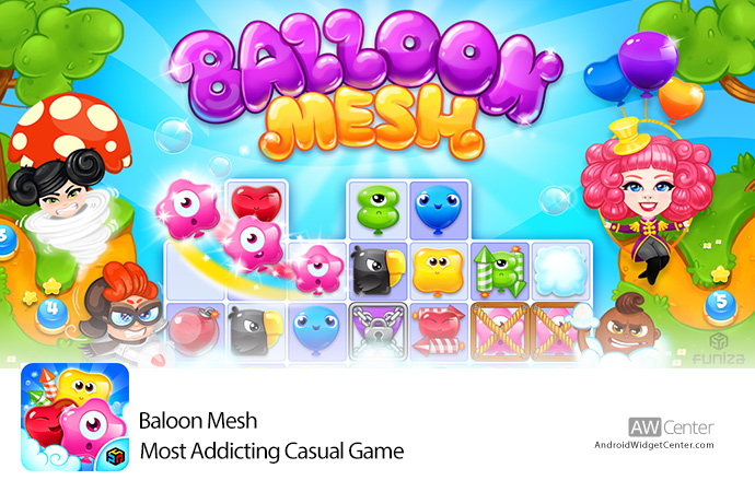 BALLOON-MESH-Most-Addicting-Casual-Game