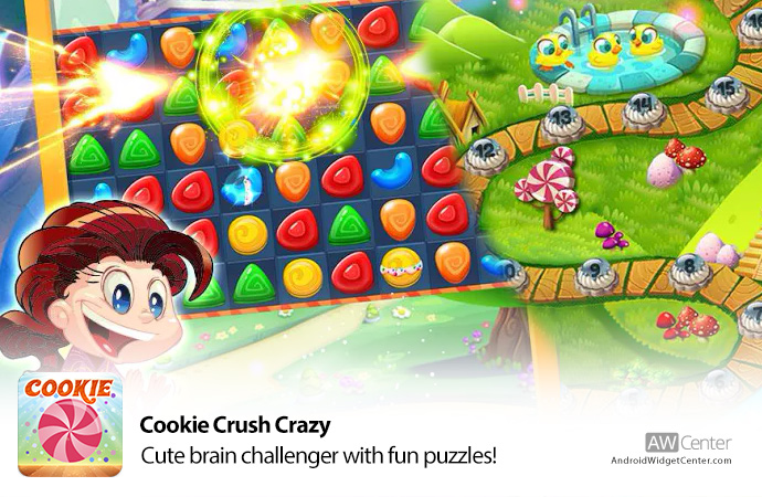 Cookie-Crush-Crazy-Cute-Brain-Challenger!