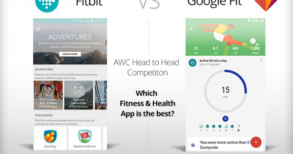 Fitbit Vs Google Fit Which Health Fitness App Is Better