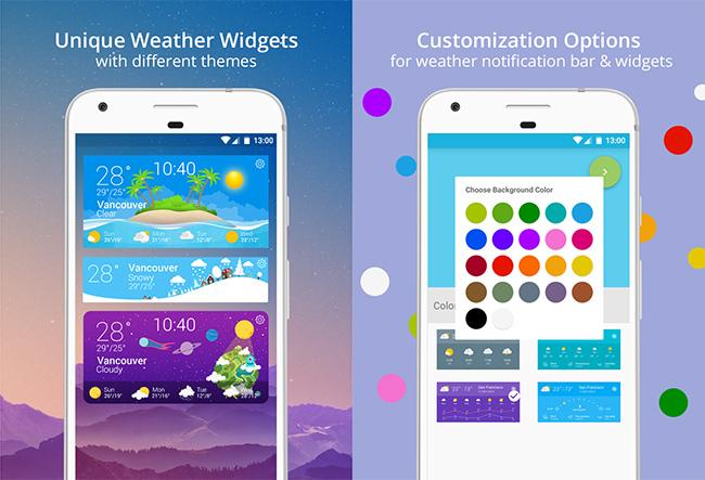 Customize-Transparent-Weather-Widget-Android