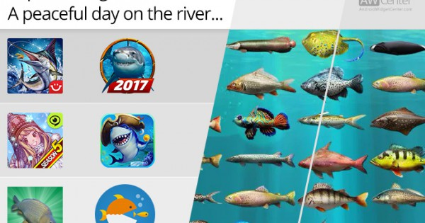 Top 5 fishing games for android a peaceful day on the river for Fishing game android