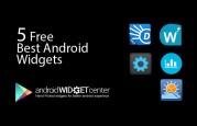 Best-Free-Android-Widget