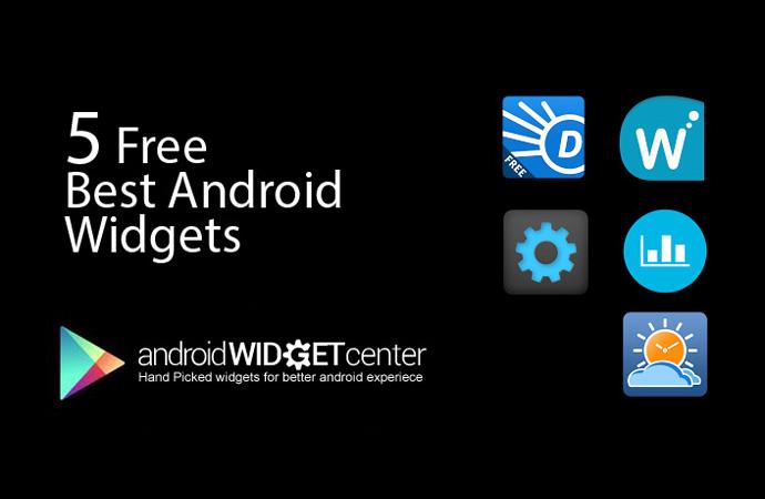 Best Free Android Widget