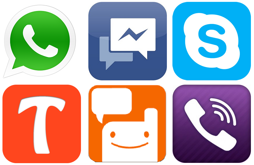 introducing three most attracting and popular Messenger Applications.
