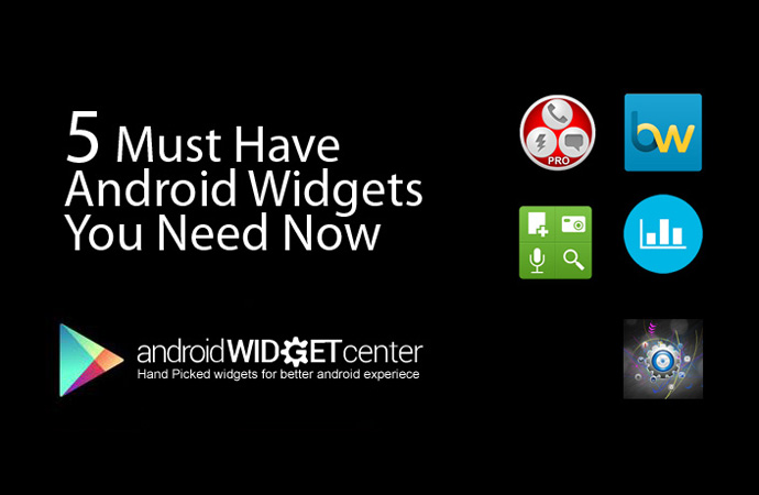 Must-have-Widgets