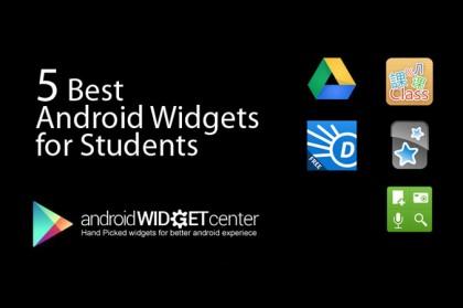 Student-Widgets