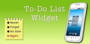 To-Do List Widget