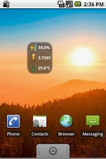 BatStat Battery Widget