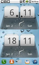 MIUI Digital Weather Clock
