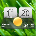 MIUI Digital Weather Clock 04