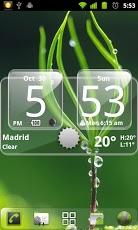 Sense Analog Glass Clock