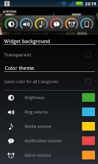 Slider Widget - Volumes