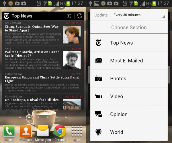 04-Android-News Widget-NYTimes
