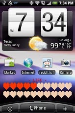 Battery Health Bar Widget