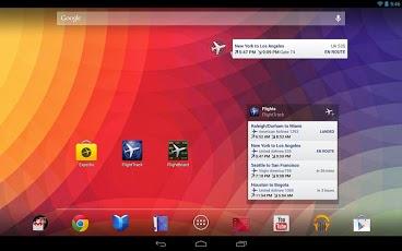 Android Flight Track