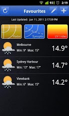 MobWeather - Android Weather Widget