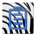Zebra Battery Widget