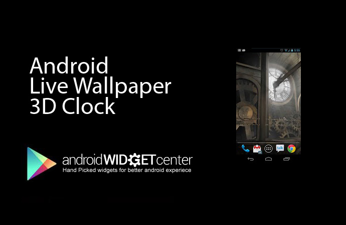 Android Live Wallpaper Clock