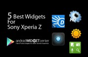 Best Widgets for Xperia Z