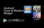 Clock and Weather Widget for Android