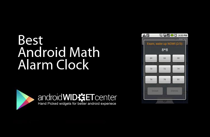 Math Alarm Clock App