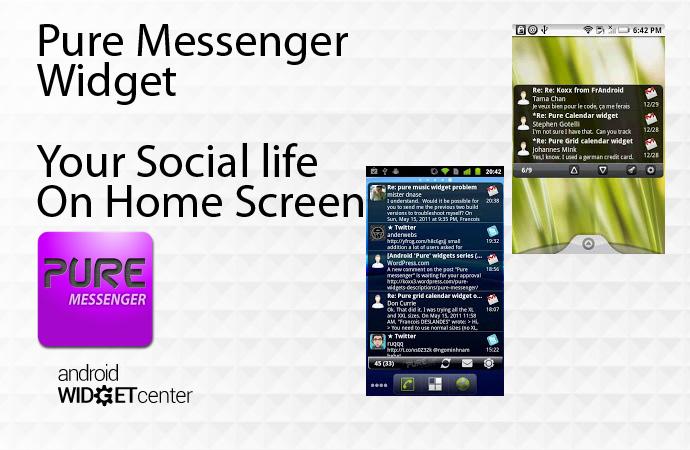 Android Social Widget